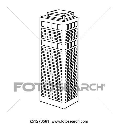Banco de Fotografías - torre, edificio, de, un, skyscraper ...