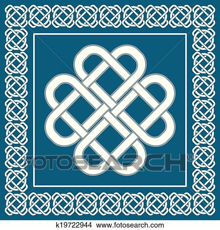 869+ Celtic Love Knot Svg for Silhouette