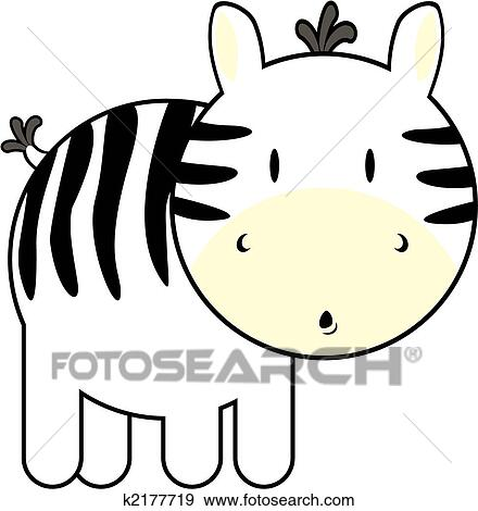 clip art of cute baby zebra k2177719 search clipart illustration rh fotosearch com cute baby zebra clipart