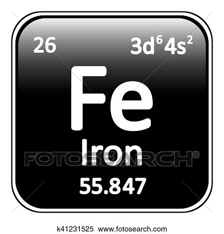 Clipart tabla peridica elemento hierro icon k41231525 clipart tabla peridica elemento hierro icon fotosearch buscar clip urtaz Choice Image