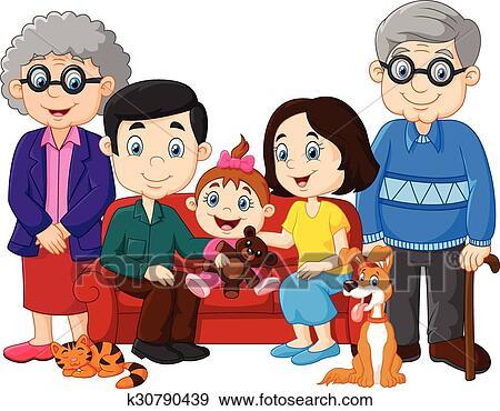 العائلة السعيدة