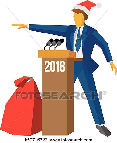 clipart new year 2018 concept fotosearch search clip art illustration murals