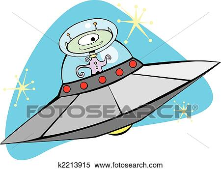 clipart of retro flying saucer and martian k2213915 search clip rh fotosearch com martian spaceship clipart martin clip art free