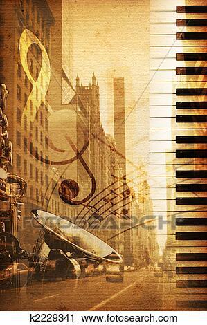 Broadway Clip Art | k2229341 | Fotosearch