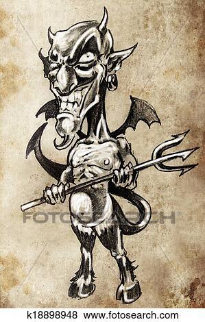 Il diavolo esiste ed è anche nei cartoni animati ecco le prove
