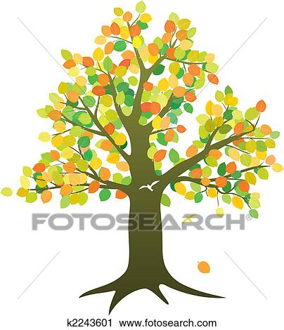 Abstract Tree Clipart K2243601 Fotosearch