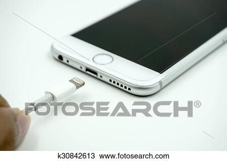 Primo Piano Immagine Di Il Nuovo Mela Iphone 6s Con Il