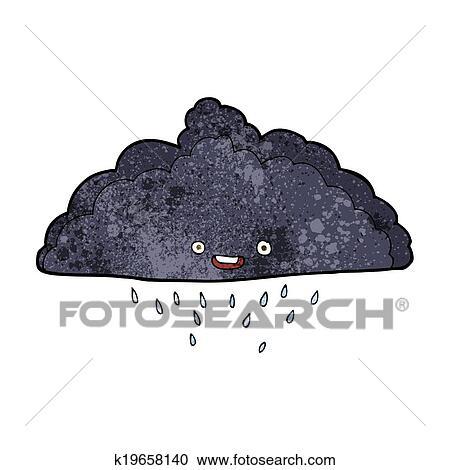 Rainy cloud clipart. Free download transparent .PNG   Creazilla