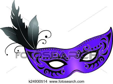 Clipart Maske K24930514 Suche Clip Art Illustration Wandbilder