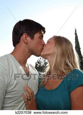 pictures of young lovely couple kissing lovingl k2257038 search