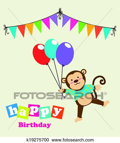 Clipart Buon Compleanno Disegno K19275700 Cerca Clipart