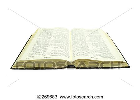stock photo of opened bible k2269683 search stock images poster