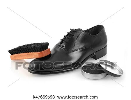 cd2e2d21e13 Γυαλιστικό παπουτσιών Στόκ Εικόνων | k47669593 | Fotosearch