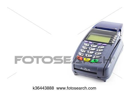 pictures of credit card reader machine k36443888 search stock