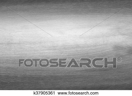 Sheet Metal Silver Solid Black Background Stock Image K37905361