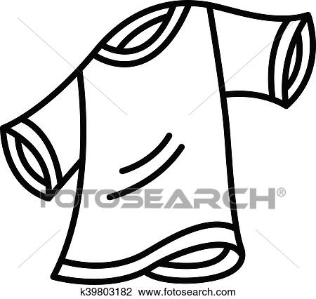 Clipart Of T Shirt K39803182
