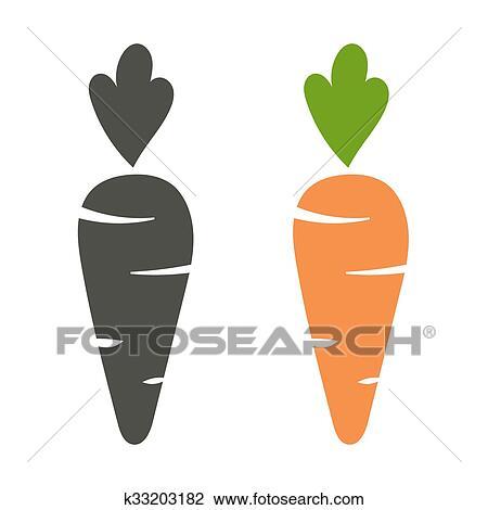 Zanahoria Vector Icono Caricatura Estilo Aislado Blanco Plano De Fondo Clipart K33203182 Fotosearch Esta famosa tarta o carrot cake es una verdadera delicia. https www fotosearch es csp231 k33203182