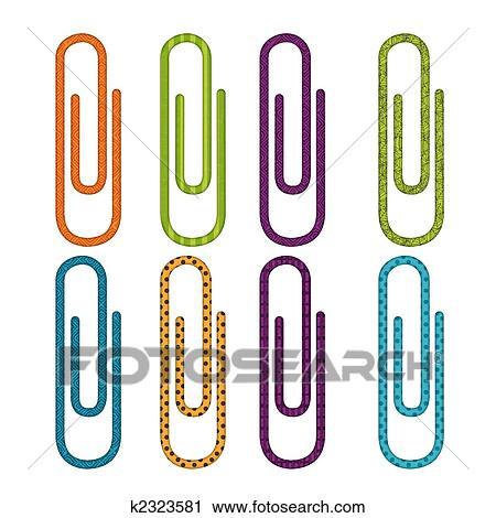 Clipart Buroklammer Sammlung K2323581 Suche Clip Art