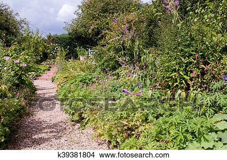 Banque de Photo - jardin formel, plate-bande k39381804 - Recherchez ...