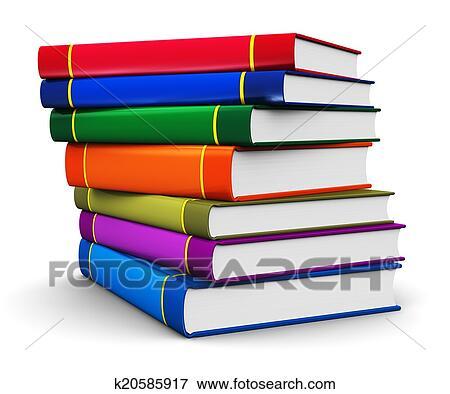 Pila Di Colorare Libro Copertina Dura Libri Archivio