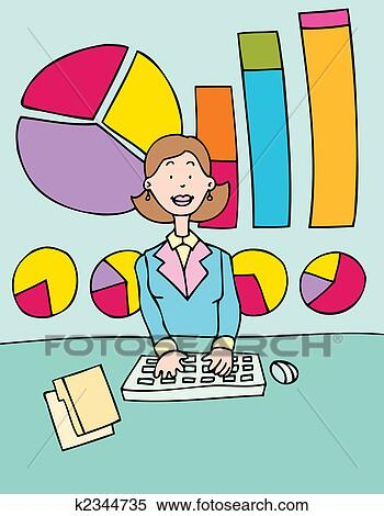 Accountant Stock Illustrations – 24,635 Accountant Stock Illustrations,  Vectors & Clipart - Dreamstime