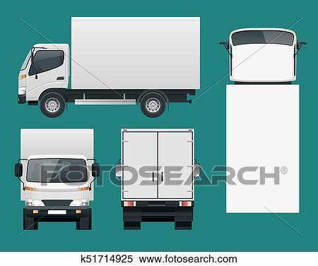clipart caminhão carga transportation entrega rápida ou