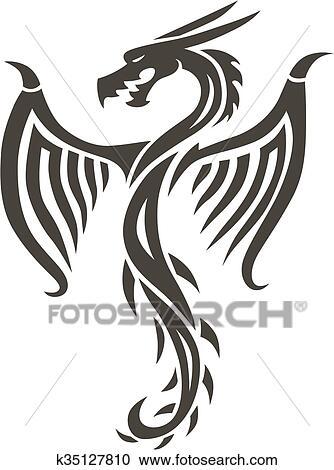 Tatouage De Dragon Chinois Great Un Des Tatouages Du Pack Dragon