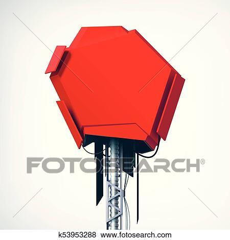 Clipart Realiste Rouges Technique Technologie Pointe Objet