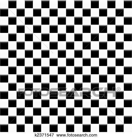 Zwart Wit Tegels.Zwart Wit Tegels Clipart K2371547 Fotosearch
