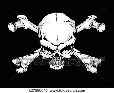 clipart of pirate flag k27580045 search clip art illustration
