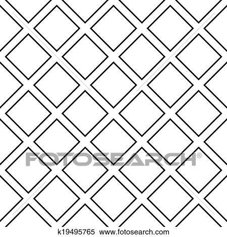 Clipart Diagonal Quadrat Kreuz Auf Transparent Hintergrund