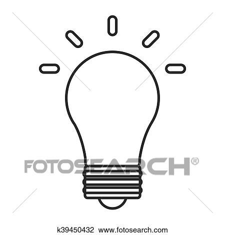 Clipart Lampadina Energia Potere Disegno K39450432 Cerca