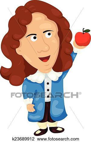 clipart of illustrator of isaac newton k23689912 search clip art rh fotosearch com illustrator cliparts free download illustrator clip art download