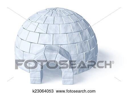 Iglú Icehouse Blanco Dibujo