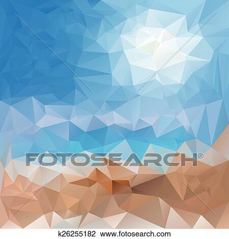 Vettore Polygonal Motivi Dello Sfondo Triangolare Disegno In
