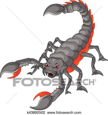 Risultati immagini per scorpione cartone
