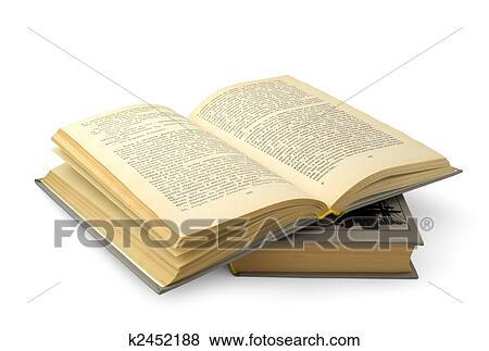 Livre Ouvert Banque De Photo