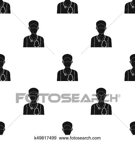 Stock Illustration Of The Doctor Is Wearing A Face Mask With A