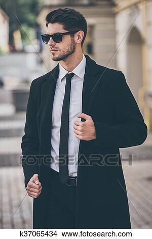 Colección De Foto Elegante Y Handsome Guapo Joven Bien