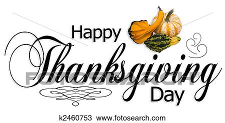 Drawing Of Happy Thanksgiving Day Type K2460753