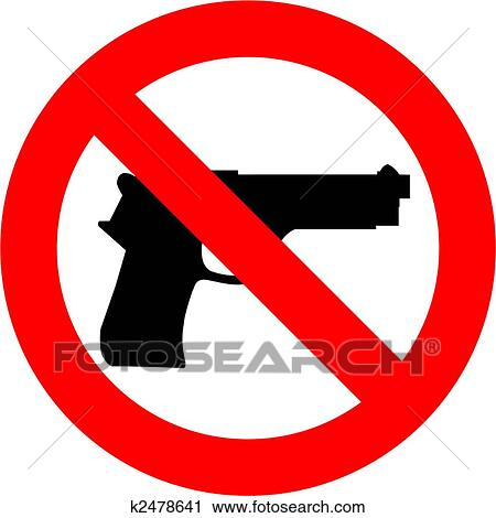 clipart of no guns k2478641 search clip art illustration murals rh fotosearch com gun clip art free images gun clip art firearms