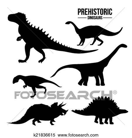 Dinossauro Desenho Clipart K21836615 Fotosearch