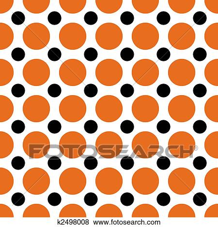 stock illustration of halloween polka dots k2498008 search eps