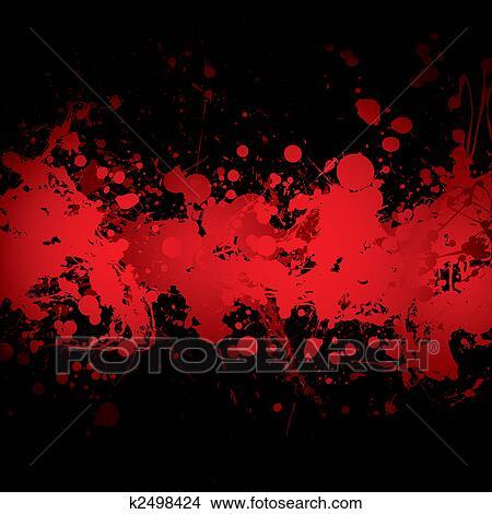 Sangue Bandiera Rosso Archivio Illustrazioni K2498424 Fotosearch