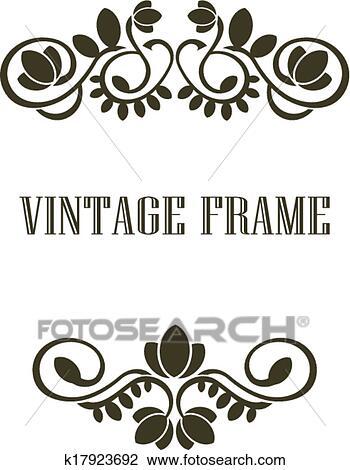 Baroque Frames Clipart Clip Art Vintage Frames Borders   Etsy   Baroque  frames, Clip art vintage, Vintage borders
