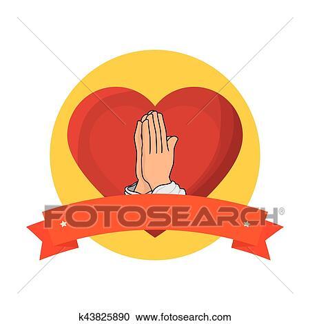 Clipart cuore sacro di ges k43825890 cerca clipart for Clipart cuore