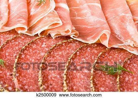 Parma prosciutto e salame archivio fotografico k2500009