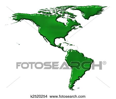 America Map Drawing.Drawings Of America 3d Ecological Map K2520254 Search Clip Art