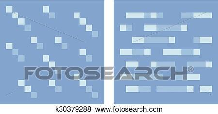 Texture Pour Platformers Pixel Art Vecteur Eau Et Glace Clipart