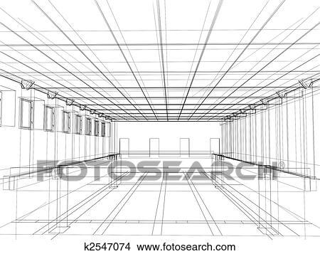 Kresby 3 Skica O Neurc Clen Vnitrni O Jeden Verejna Budova